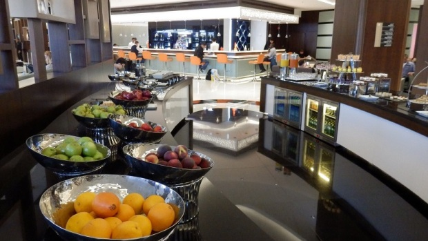ETIHAD AIRWAYS PREMIUM LOUNGE, ABU DHABI