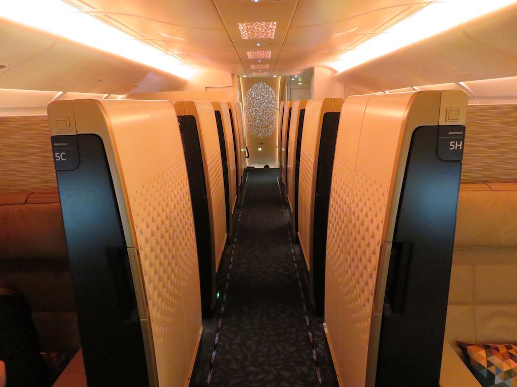 Pic etihad airways a380 first class apartment 4k may 2015 - Etihad Airbus A380 First Class London To Abu Dhabi Videoclip Flyertalk Forums
