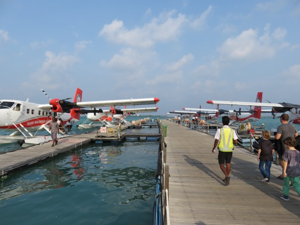WATERPLANE TRANSFER TO SONEVA FUSHI