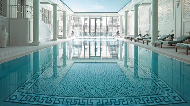 Top 10 the world s most amazing indoor hotel pools the for France pools
