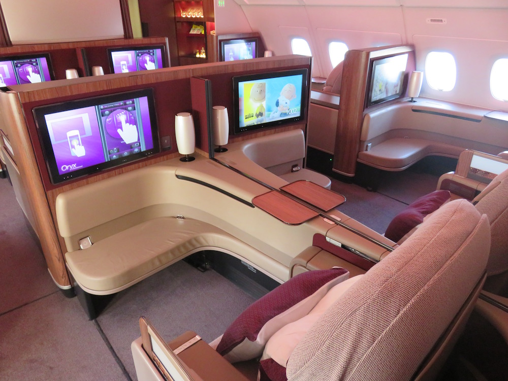Qatar Airways A380 Royal First Class From Doha To Paris