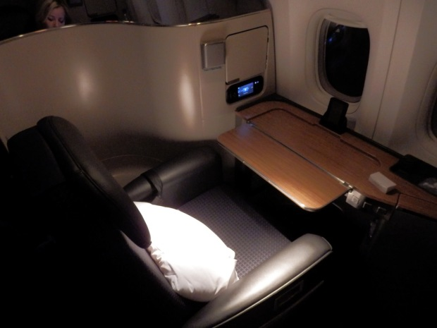 FIRST CLASS SEAT 1A: OFFICE POSITION