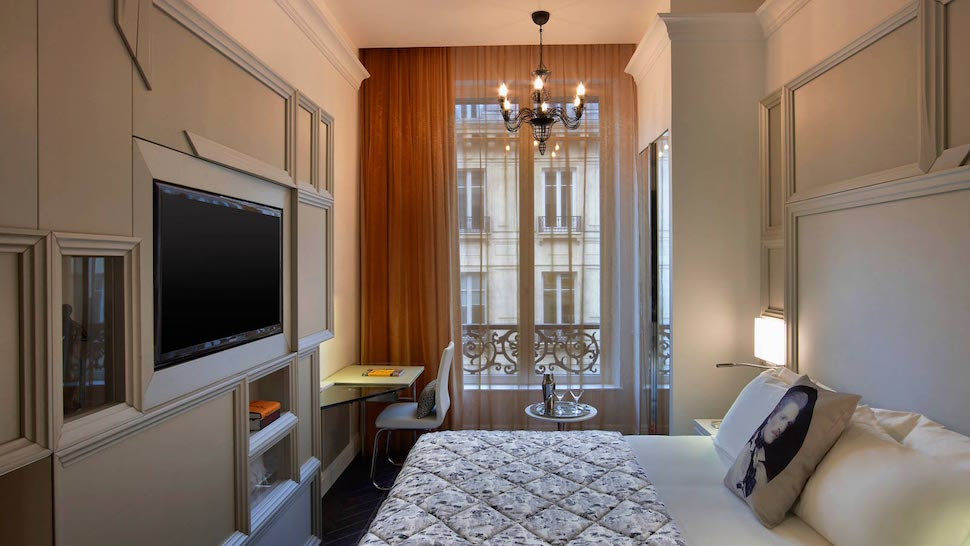 small little luxury hotels w paris opera france supertiny rooms the luxury
