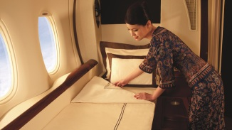 2. NEW YORK TO/FROM FRANKFURT ON SINGAPORE AIRLINES