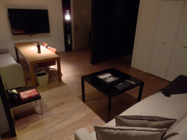 LOFT SUITE AT NIGHT