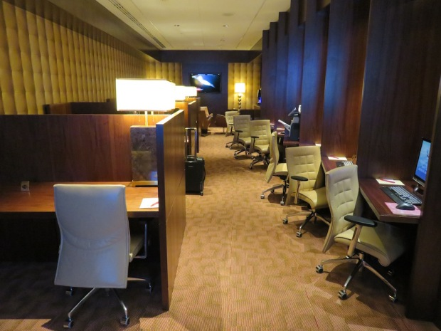 FIRST CLASS LOUNGE: BUSINESS CENTER