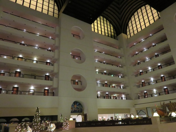 LOBBY AT NIGHT