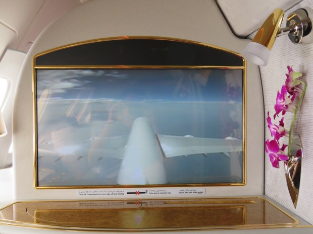 EMIRATES - ENTERTAINMENT SYSTEM (TAIL CAMERA)