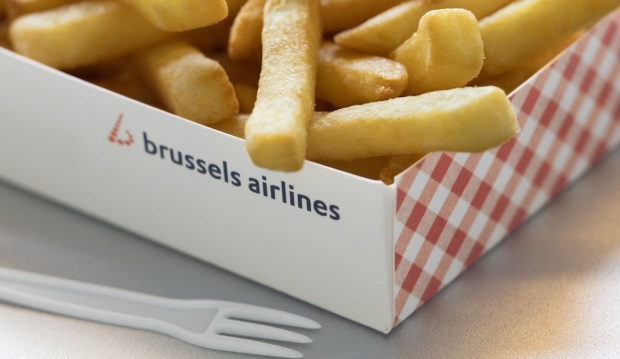 FRIES ONBOARD BRUSSELS AIRLINES