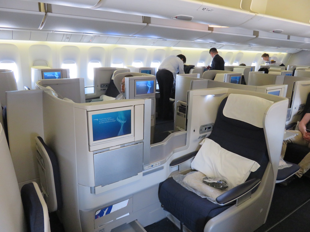 british airways b777300er business class hnd to lhr � the