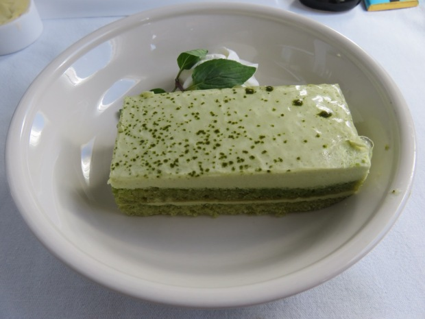 LUNCH - DESSERT: GREEN TEA TIRAMISU