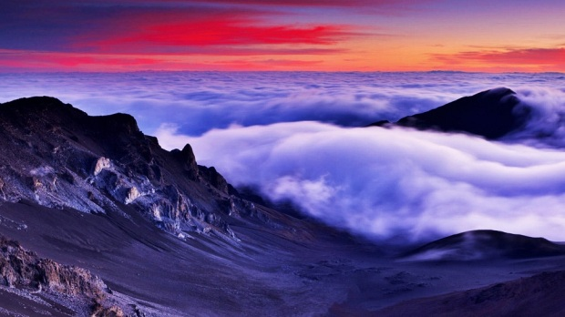 HALEAKALA NATIONAL PARK, HAWAII, USA