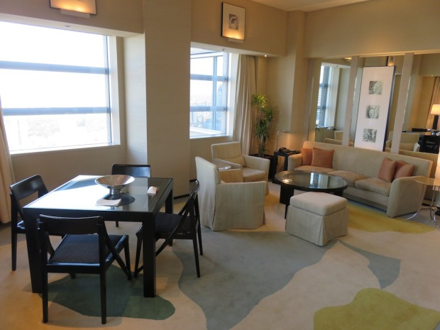 PARK SUITE: LIVING AREA
