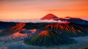 1. MOUNT BROMO, JAVA, INDONESIA