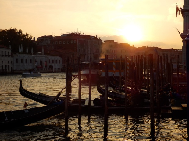 CANAL GRANDE: SUNSET