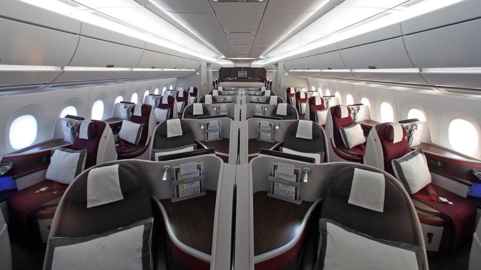 QATAR AIRWAYS A350 BUSINESS CLASS