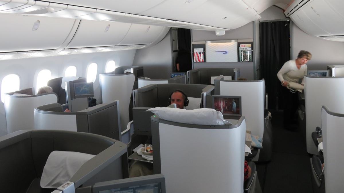 British Airways B787 Business Class Calgary to London