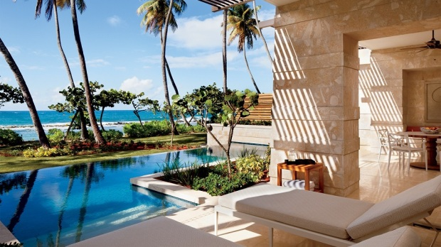 Top 10 most luxurious resorts in the caribbean the for Most luxurious beach resorts in the world