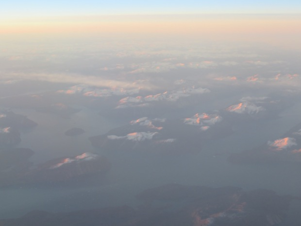 SUNRISE OVER GREENLAND