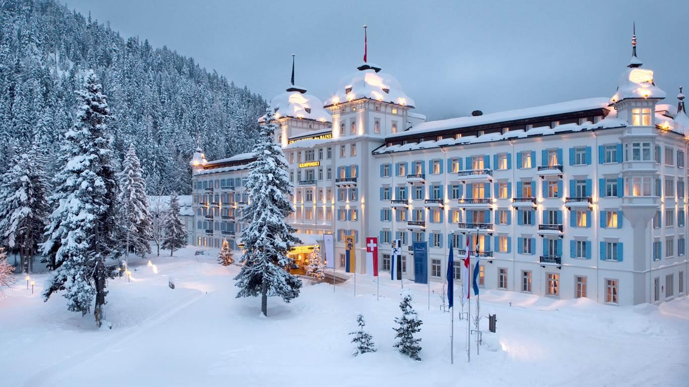 Hotels In St Moritz Switzerland  Star