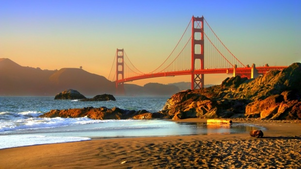 BAKER BEACH, SAN FRANCISCO (USA)