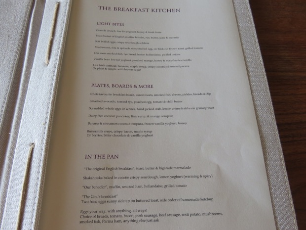 THE OCEAN KITCHEN: BREAKFAST