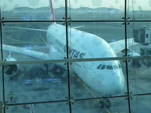 QANTAS A380 (AT DUBAI)