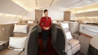 10. FLYING FIRST CLASS IN A CATHAY PACIFIC BOEING 777-300ER