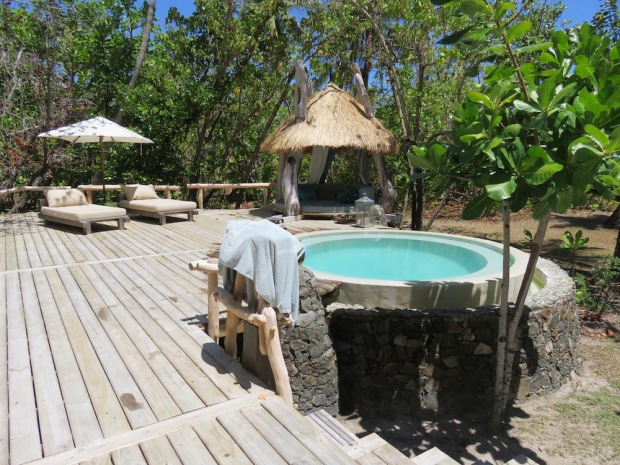 PRESIDENTIAL VILLA: OUTDOOR DECK & PLUNGE POOL