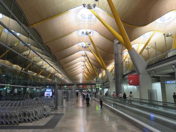 MADRID BARAJAS AIRPORT TERMINAL 4