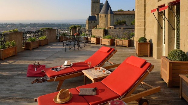 Top 10: most exclusive hotels in France